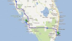 Rundreise Florida Route durch den südlichsten Staat der Vereinigten Staaten