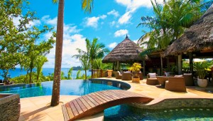 Seychellen Dubai Valmer Resort Mahe Pool