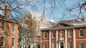 USA Ostküste Reise Historisches Gebäude im Zentrum von Philadelphia