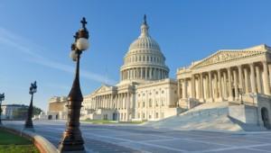 USA Ostküste Reise Ostfassade des Kapitol Gebäude in Washington D.C.