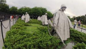 USA Ostküste Reise Das Korean War Veterans Memorial in Washington D.C.