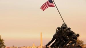 USA Ostküste Reise United States Marine Corps War Memorial in Washington