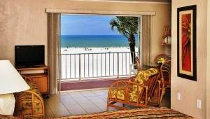 Rundreise New York Florida Outrigger Beach Resort Blick aus dem Doppelzimmer