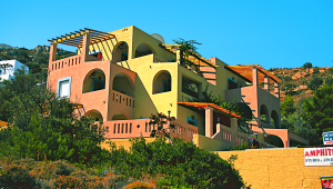 Inselhüpfen Griechenland Amphitrite Hotel