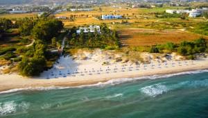 Inselhüpfen Griechenland Hotel Cavo D'oro Strand