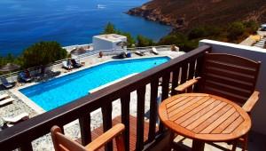 Inselhüpfen Griechenland Hotel Patmos Paradise