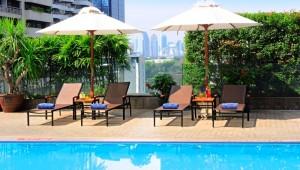 Thailand Rundreise Genießen Sie das kühle Frisch über den Dächern Bangkoks auf Ihrer Thailand Rundreise