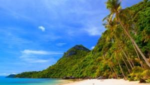 Thailand Rundreise Der Blick auf den Marine Park auf Koh Samui, dem Badeanschluss Ihrer Thailand Rundreise