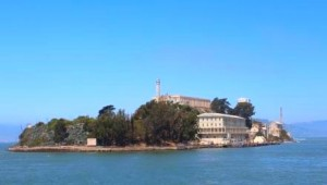 West USA Rundreise berühmtes Alcatraz, die ehemalige Gefängnisinsel San Franciscos