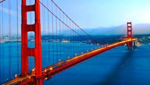West USA Rundreise Golden Gate Bridge in San Francisco