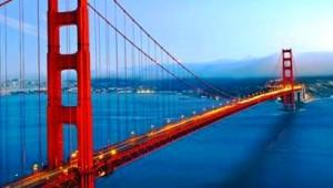 West USA Rundreise Golden Gate Bridge in San Francisco