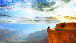 West USA Rundreise die Schluchten des atemberaubenden Grand Canyon bei Tagesanbruch