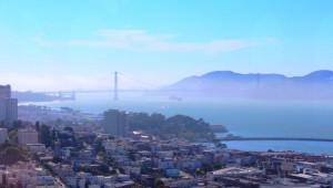 West USA Rundreise Überblick über die San Francisco Bay und die Golden Gate Bridge
