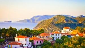Inselhüpfen Sporaden Landschaft von Alonissos