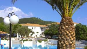 Inselhüpfen Sporaden - Hotel Appartments Alkistis Ansicht Pool