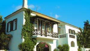 Inselhüpfen Sporaden - Hotel Appartments Alkistis Gebäude
