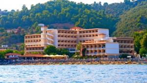 Inselhüpfen Sporaden - Hotel Esperides Beach Gebäude