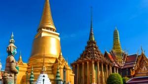 Thailand Rundreise Großer Palast in Bangkok mit goldener Kuppel