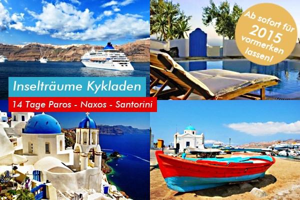 Inselhopping Griechenland Kykladen Newsletter