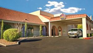 Rundreise Westküste USA Best Western Airport Inn Phoenix - Eingang