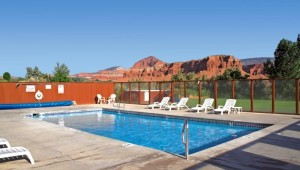 Rundreise Westküste USA Best Western Capitol Reef - Pool