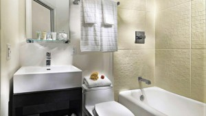 Rundreise Westküste USA Hotel Vertigo - Badezimmer