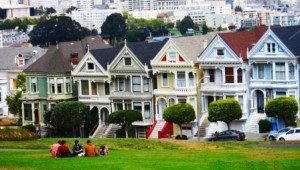 Rundreise Westküste USA - Painted Ladies San Francisco