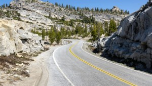 Rundreise Westküste USA - Tioga Pass