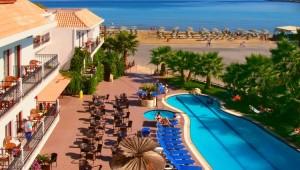 Kreta Rundreise - Hotel Almyrida Beach Meerblick