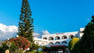Kreta Rundreise - Hotel Matheo Villas & Suites Auffahrt