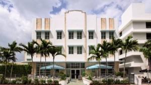 Eingang zum Hotel Circa 39 in Miami Beach