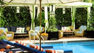 Pool im Hotel Circa 39 in Miami Beach