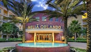 Florida Rundreise Melia Orlando Suite Hotel Eingang