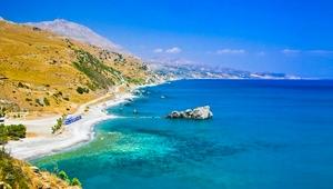 Kreta Rundreise Elafonissi Küste