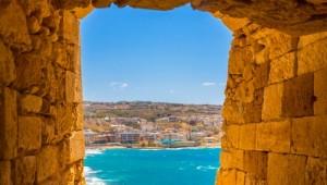 Kreta Rundreise Ausblick auf Rethymnon