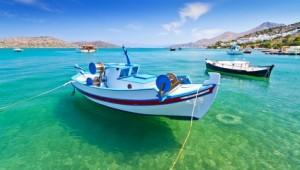 Kreta Rundreise Fischerboote an der Küste