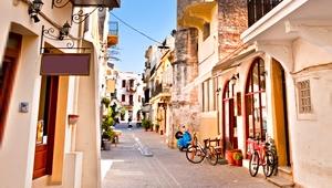 Kreta Rundreise Gassen in Chania