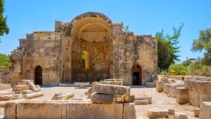 Kreta Rundreise Ruinen von Gortyn