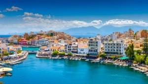 Kreta Rundreise Hafen von Agios Nikolaos