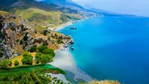 Kreta Rundreise Preveli Strand