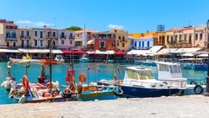 Kreta Rundreise Venezianischer Hafen von Rethymnon