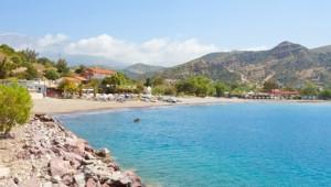 Kreta Rundreise Strand von Agia Galini