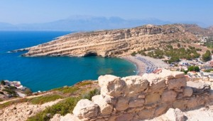Kreta Rundreise Strand von Matala