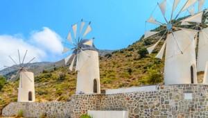 Kreta Rundreise Windmühlen in Lassithi
