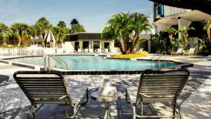 Rundreise New York Florida Four Points by Sheraton Studio City Resort Orlando Pool