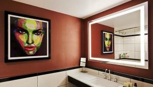 Rundreise New York Florida Hotel Park Central Badezimmer