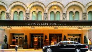 Rundreise New York Florida Hotel Park Central Eingang