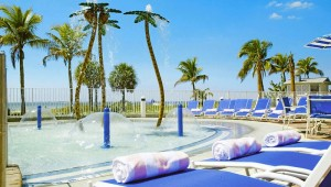 Rundreise New York Florida Pink Shell Beach Resort Fort Myers Beach Pool