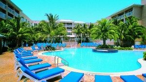 Rundreise New York Florida - Doubletree Grand Key Resort Key West Pool