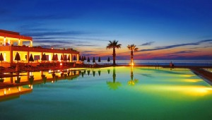 GRECOTEL White Palace - Pool am Abend